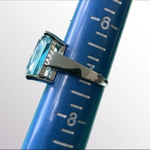Braydini Jewelry - Blue Aquamarine Ring Size 7 2/$30